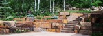 Retaining Wall with Stairway