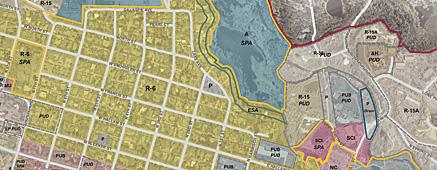 Aspen Zoning Map