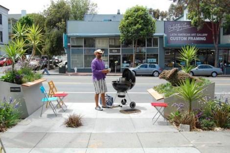 San Francisco Parklet