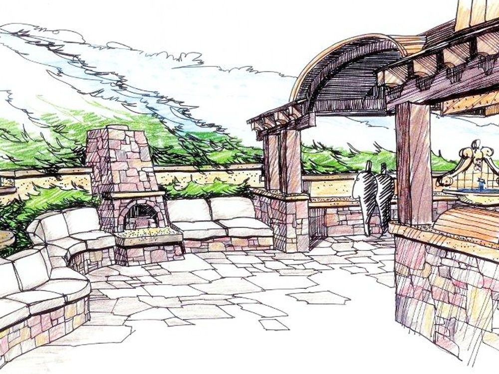 Landscape Architectural Sketches