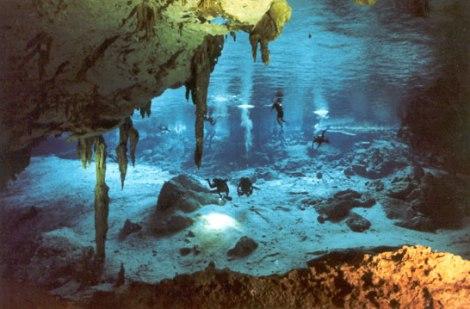 Dos Ojos Cenote (image courtesy of http://www.cenotedosojos.com/